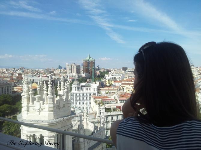 Palacio Cibeles View