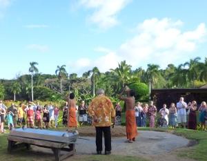 Beginning of Lu'au