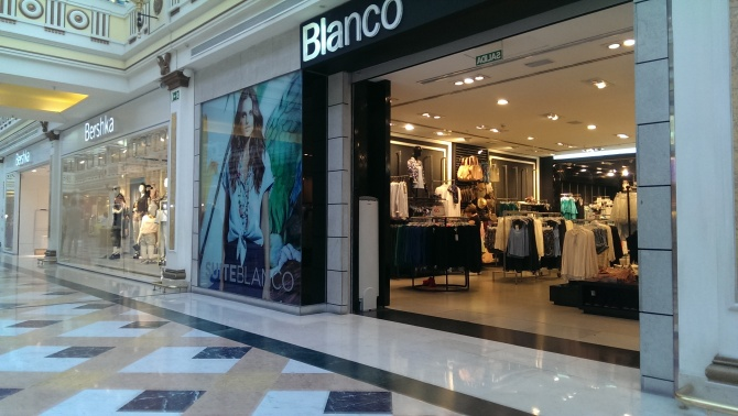 BLANCO and BERSHKA