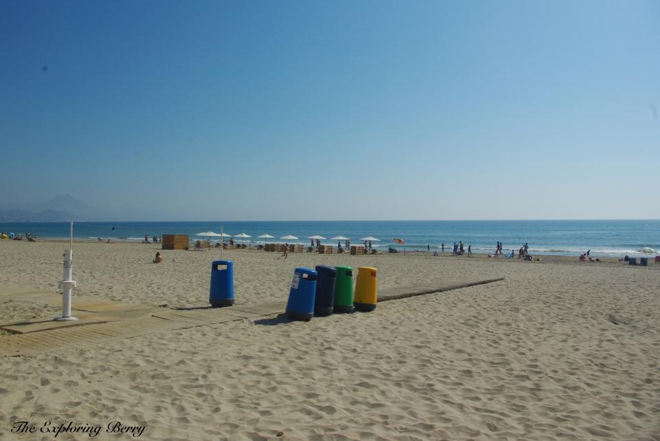 San Juan Beach - environmentally friendly beach