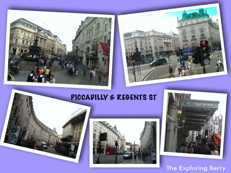 Piccadilly and Regents St