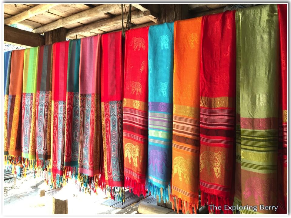 hill tribe scarfs