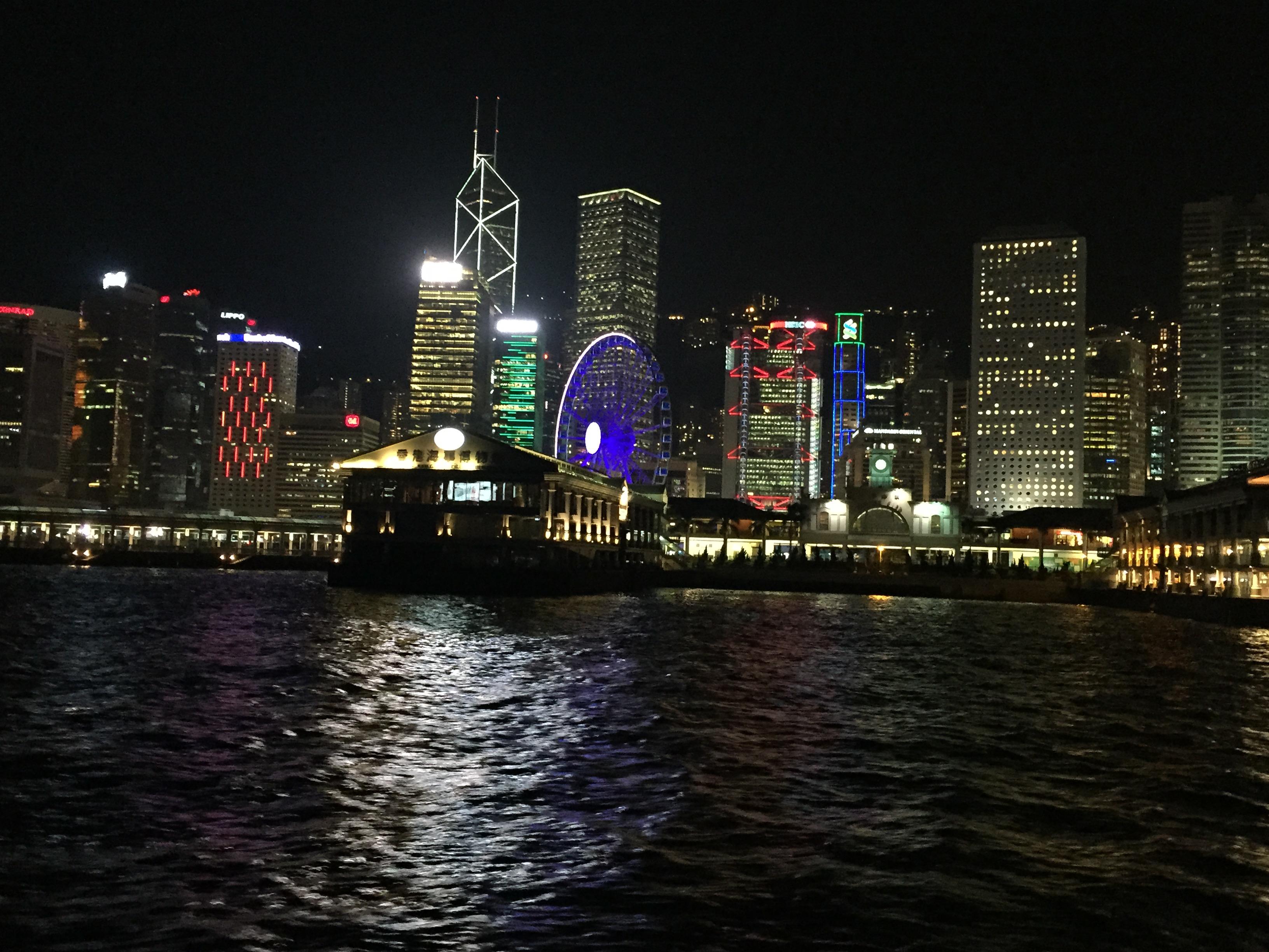 Festival de Luces en Victoria Harbour