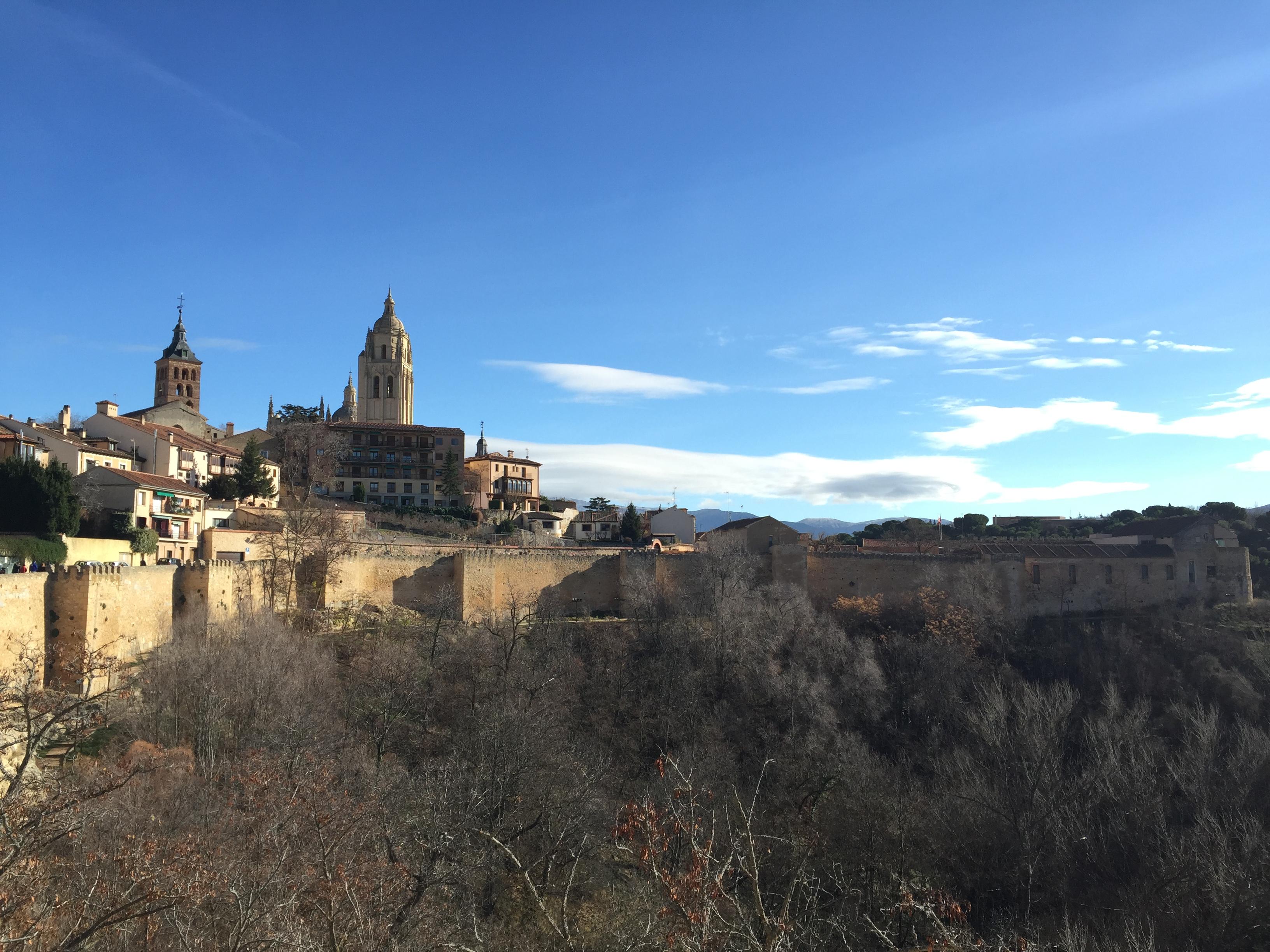Segovia in winter