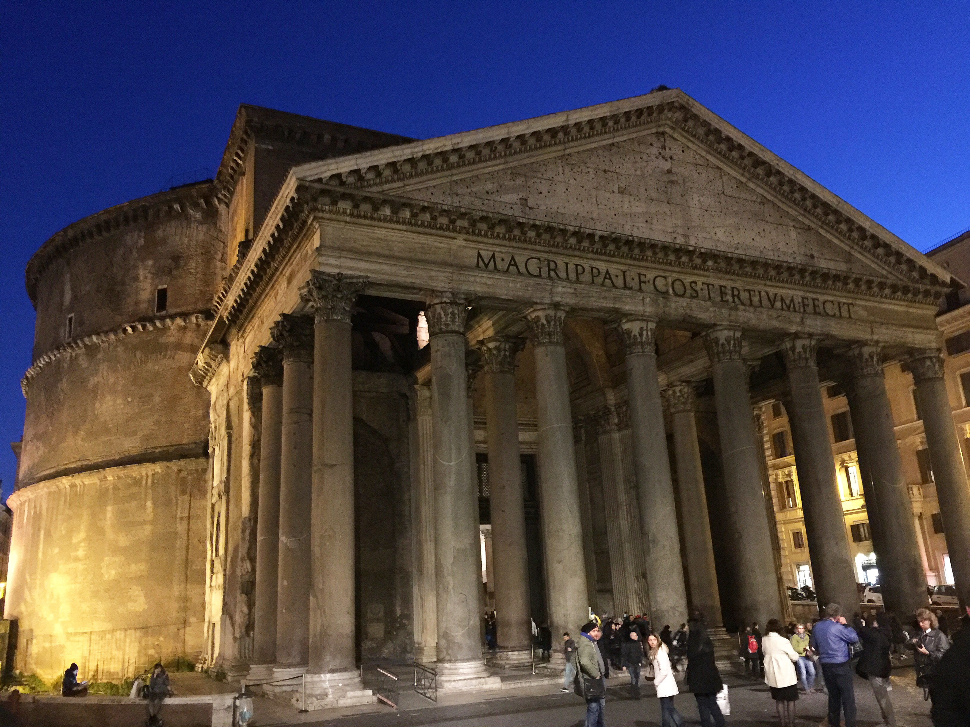 The Pantheon at night- Rome