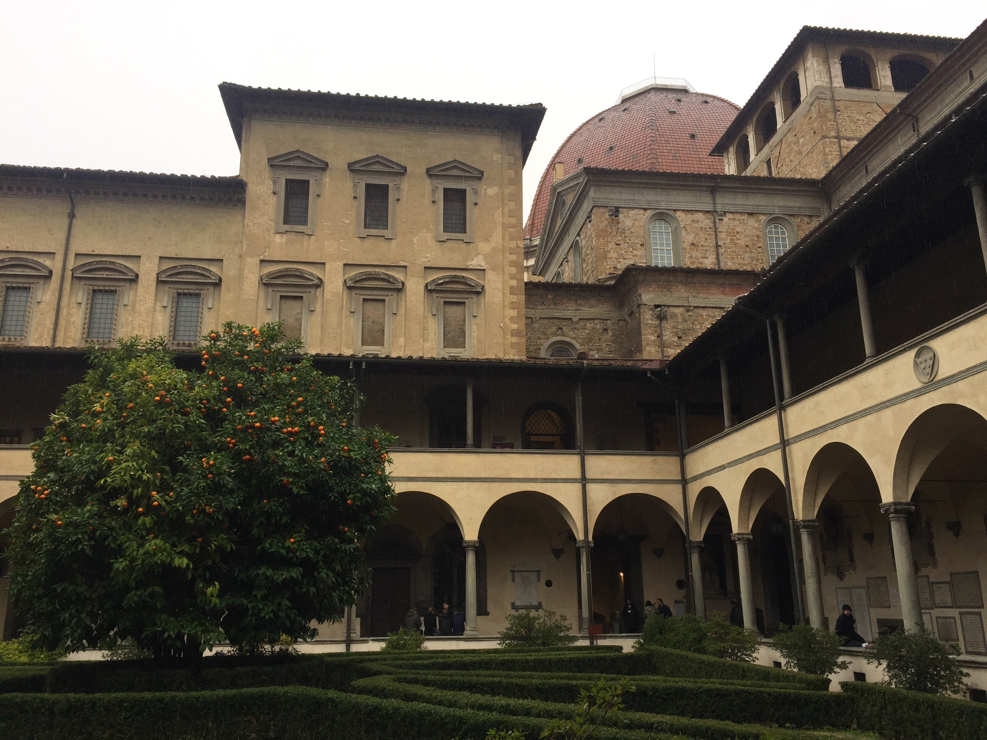 Visiting the Monastery of San Lorenzo