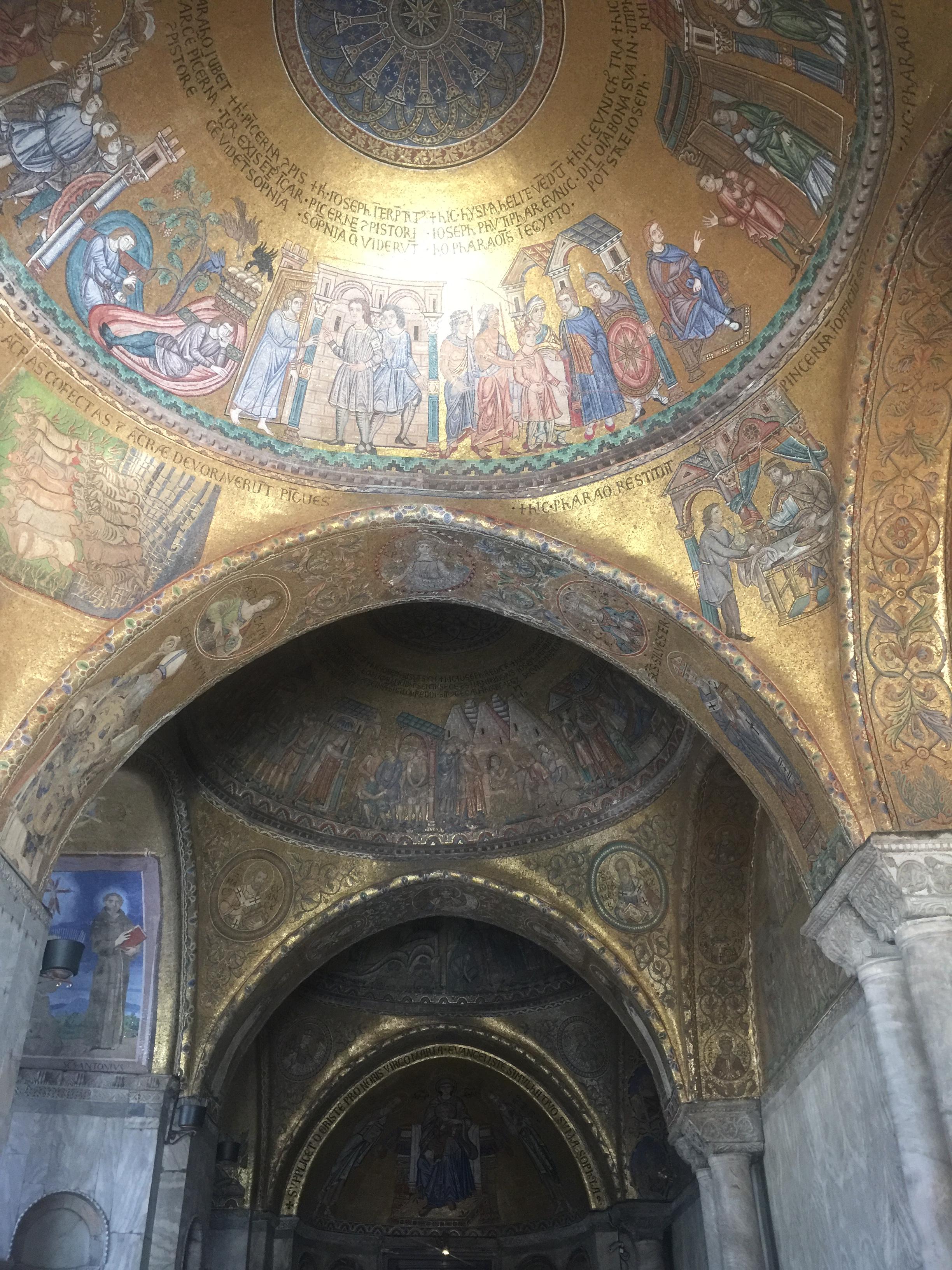 Interiors of the Basilica di San Marco