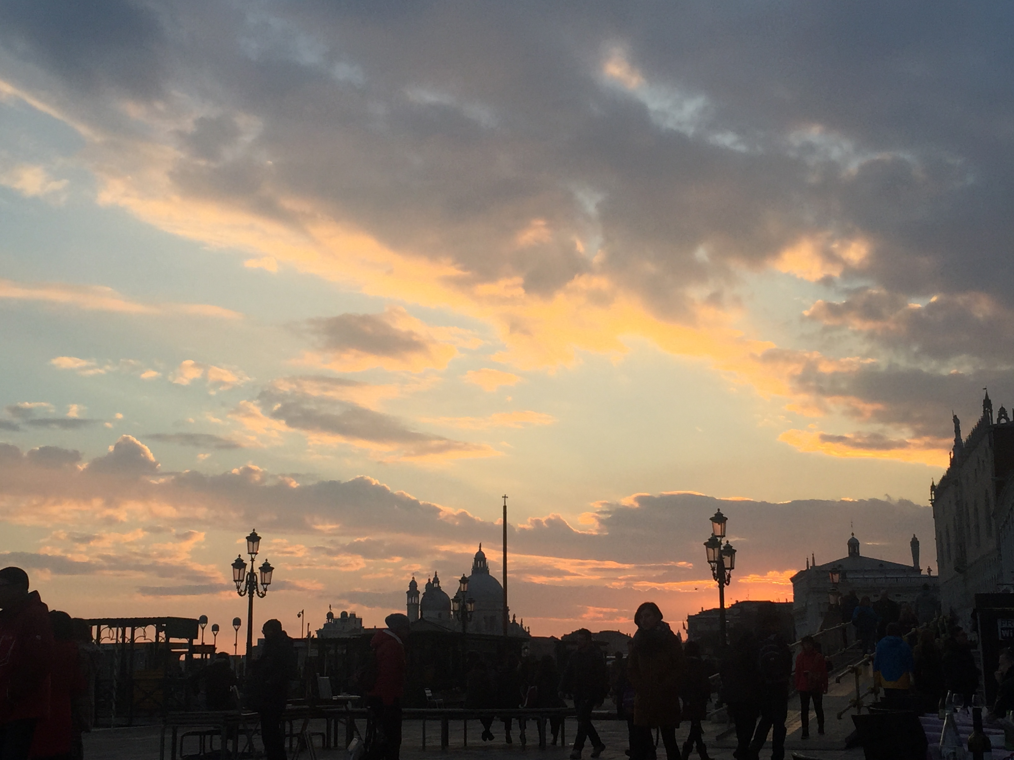 Sunset by the Grand Canal, day 2