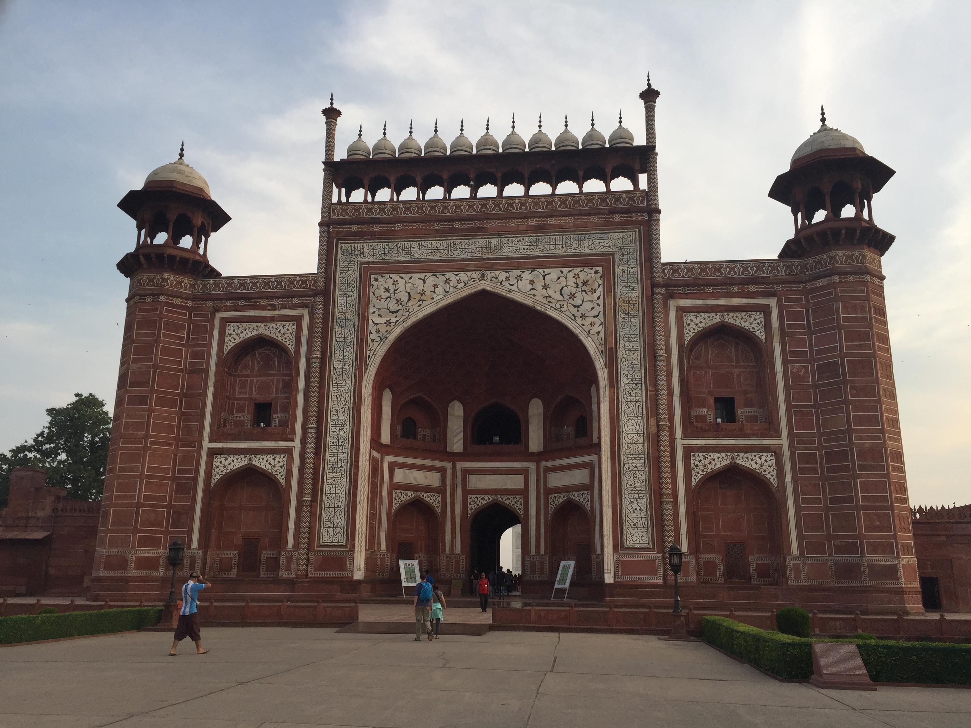 Taj Mahal´s Southern Gate