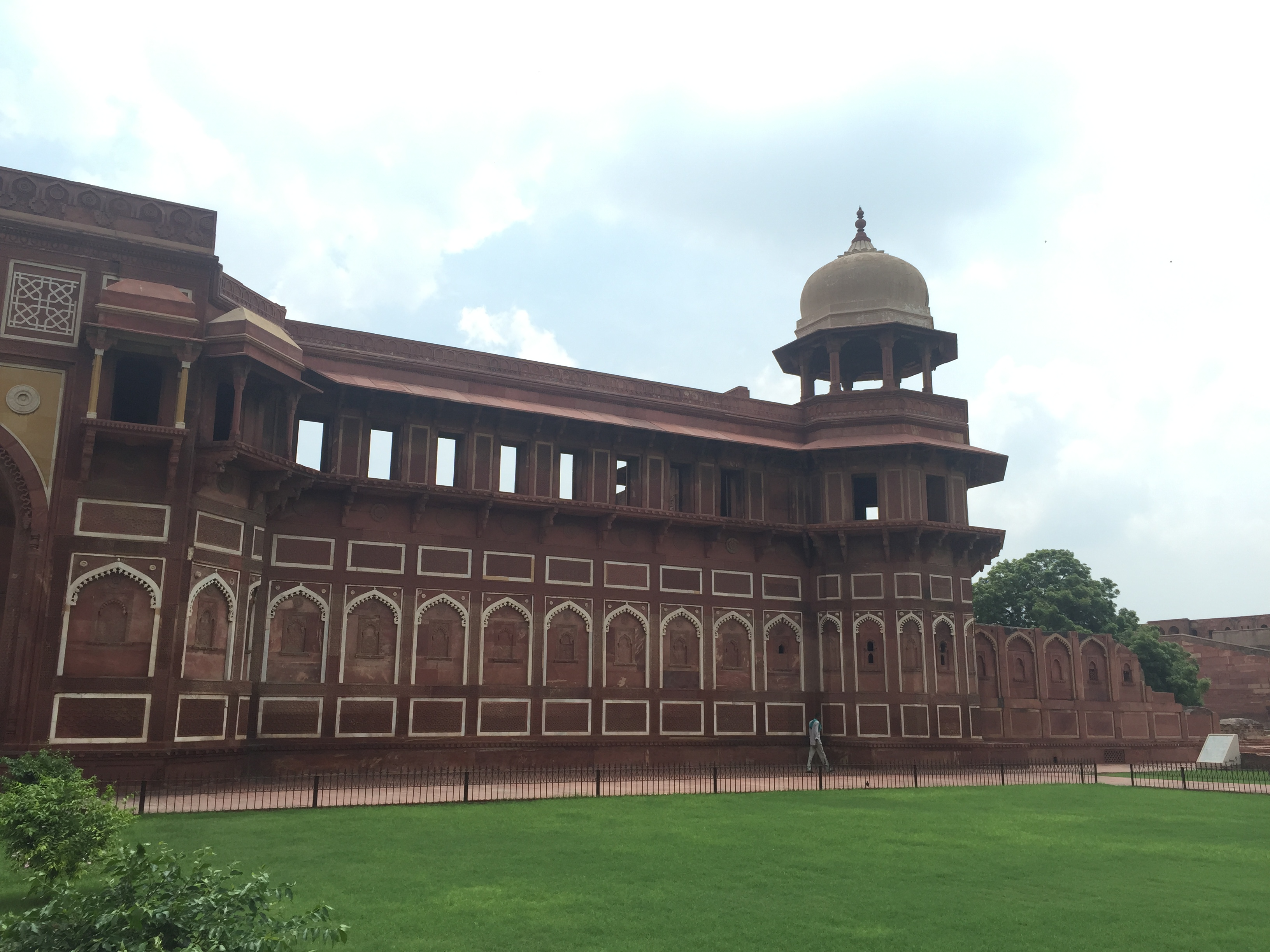 Inside the Agra Fort