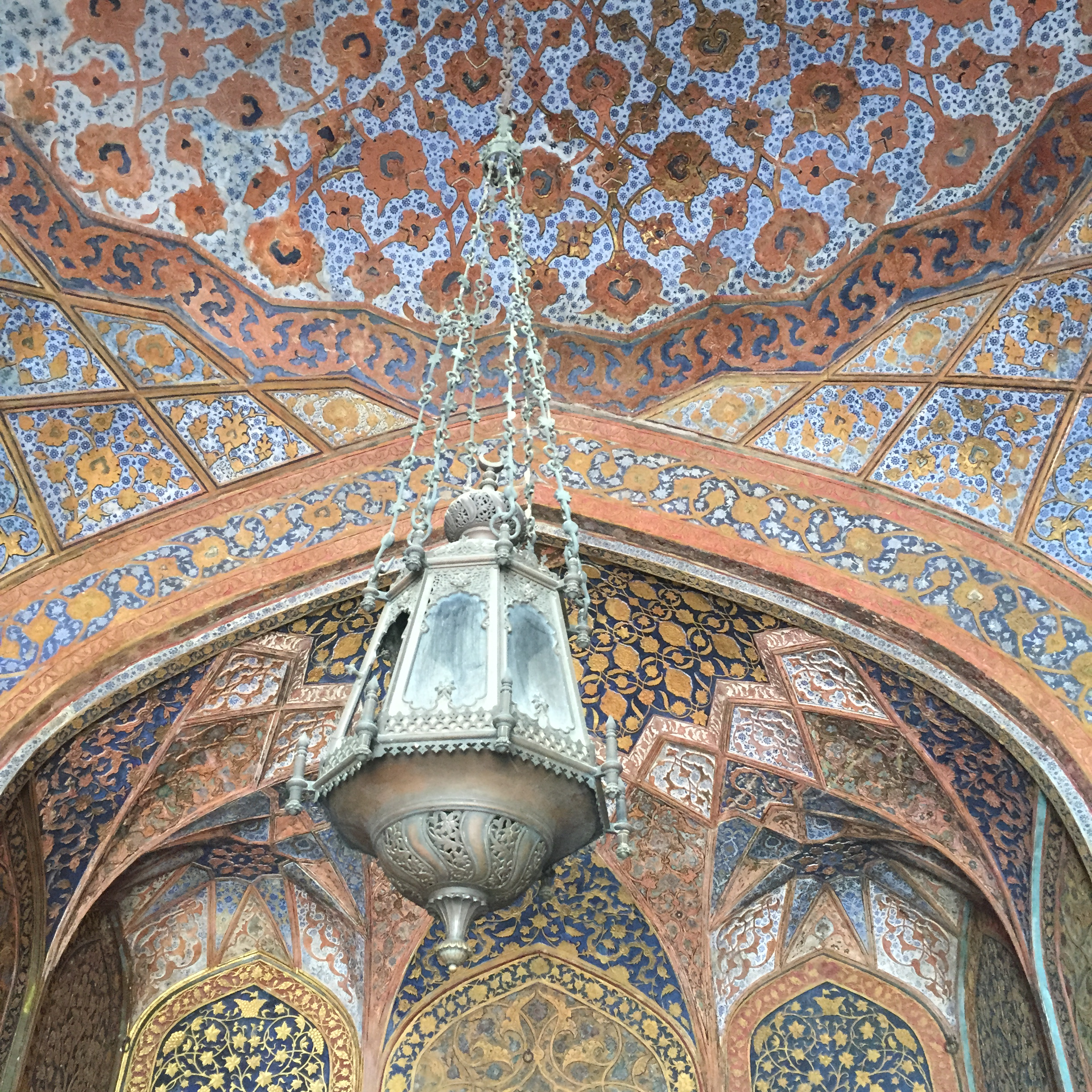 Interiors of Akbar´s Mausoleum