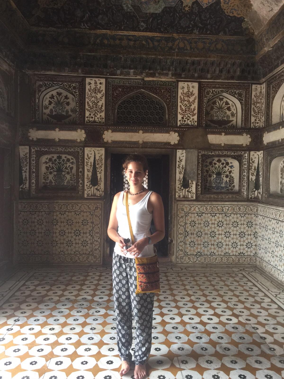 Inside Itimad-ud-Daulah´s Tomb
