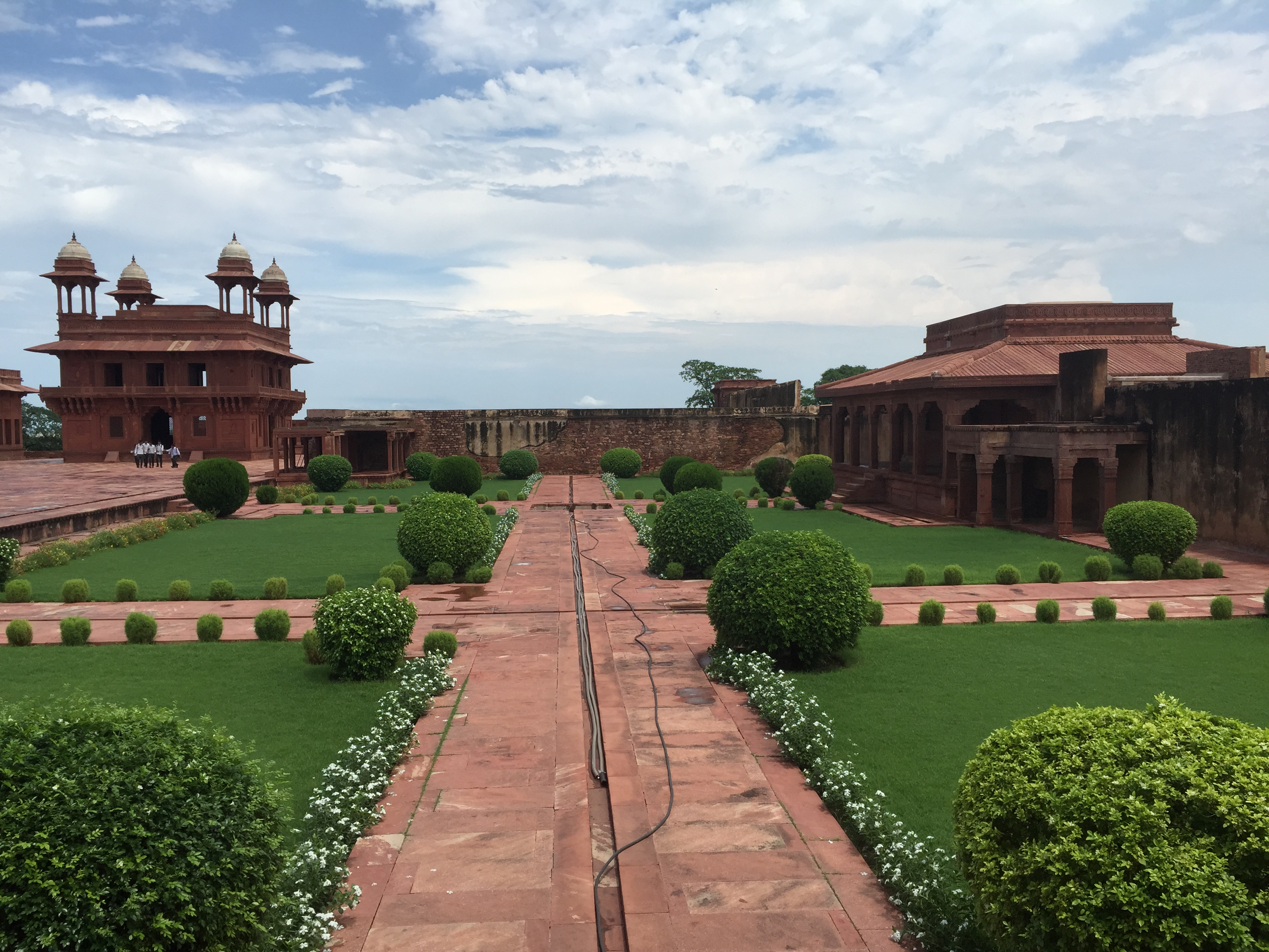 Courtyards of Fatehpur Sikri