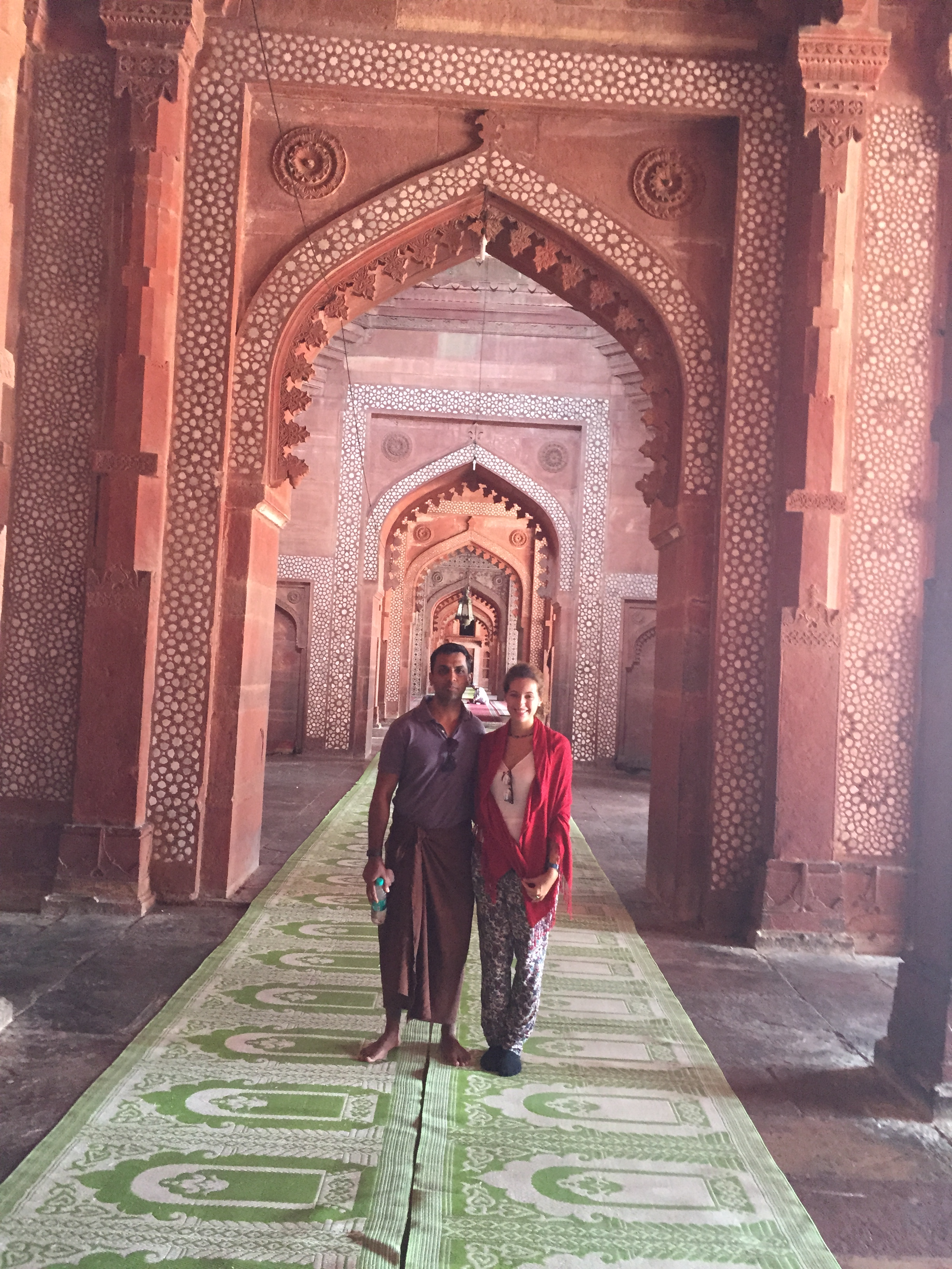 Inside Jami Masjid
