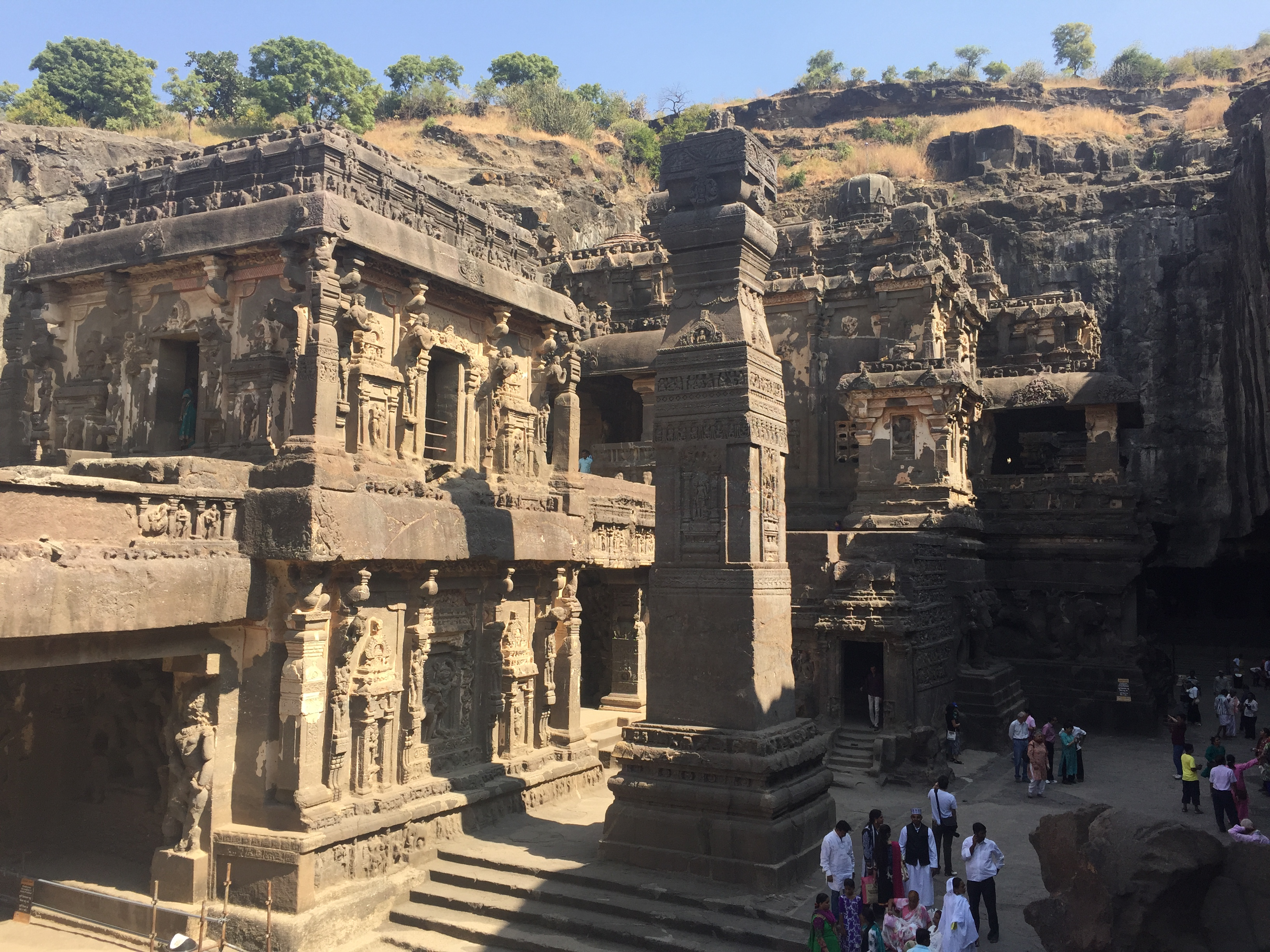 The beautiful ajanta and ellora caves in south western for Ajanta cuisine of india