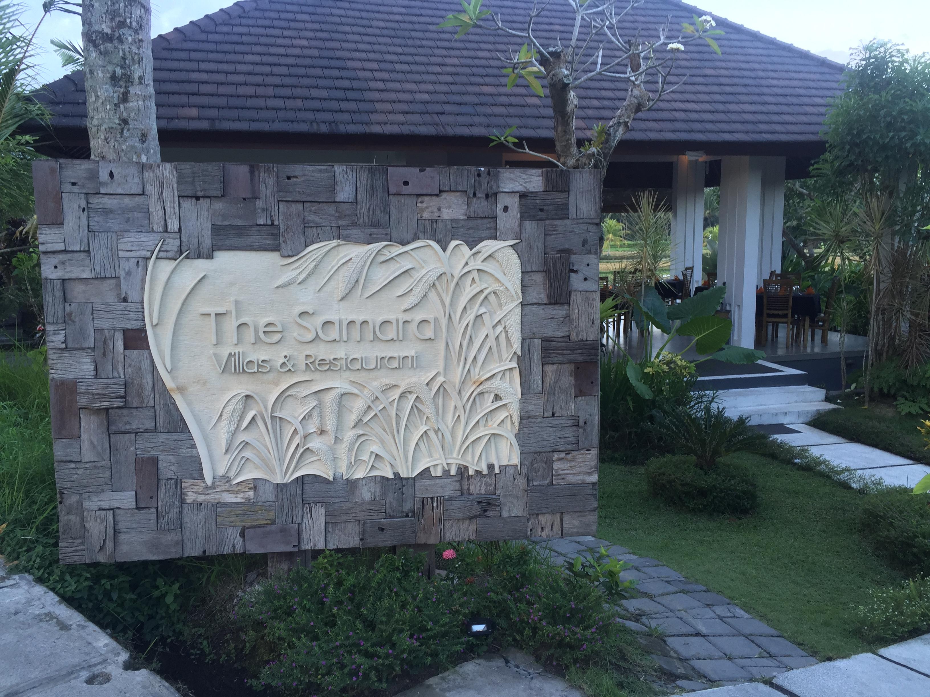 The Samara Villas & Restaurant in Ubud, Bali