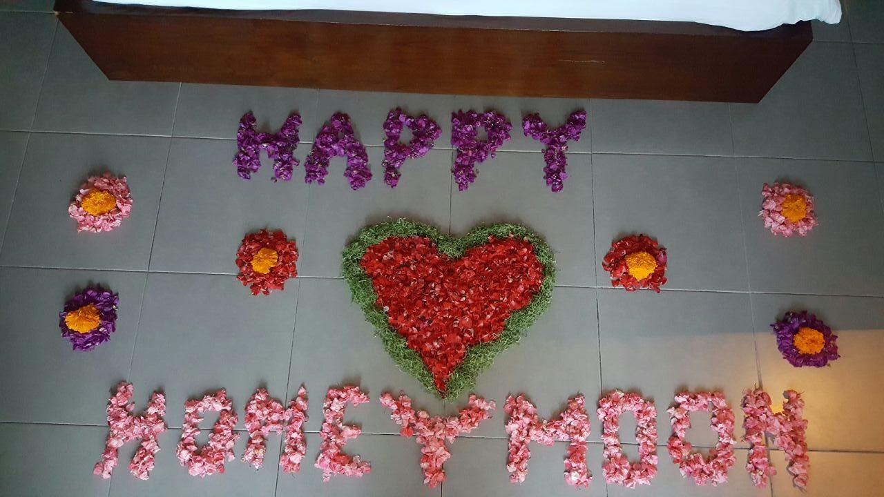 Honeymoon Decorations at The Samara Villas & Restaurant Ubud